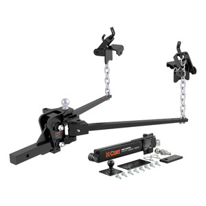 "CURT Short Trunnion Bar Weight Distribution Hitch Kit (8K - 10K lbs., 28-3/8"" Bars) #17322"