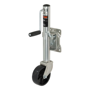 """CURT Marine Jack with 6"""" Wheel (1,200 lbs., 10"""" Travel, Packaged) #28113"""