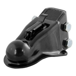 "CURT 2-5/16"" Channel-Mount Coupler with Easy-Lock (14,000 lbs., Black) #25330"