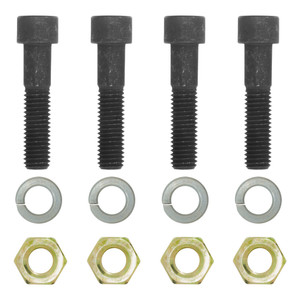 CURT Pintle Mount Bolt Kit for Hook #48331 (Class 12.9, Black Oxide) #48331