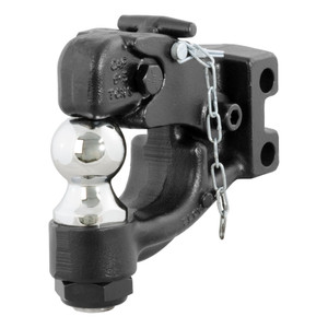 "CURT Replacement Channel Mount Ball & Pintle Combination (2"" Ball, 10,000 lbs.) #45919"