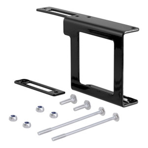 """CURT Easy-Mount Bracket for 4 or 5-Way Flat (2"""" Receiver, Packaged) #58001"""