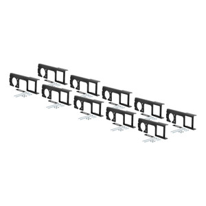 """CURT Easy-Mount Brackets for 4 or 5-Flat & 6 or 7-Round (2"""" Receiver, 10-Pack) #58000010"""