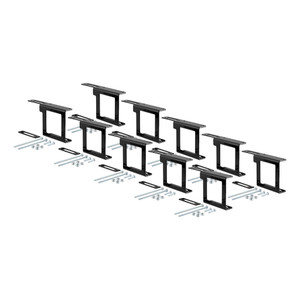 """CURT Easy-Mount Brackets for 4 or 5-Way Flat (2"""" Receiver, 10-Pack) #58001010"""