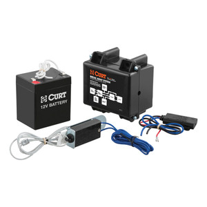CURT Soft-Trac 1 Breakaway Kit with Charger #52040