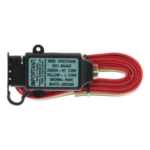 CURT Non-Powered 3-to-2-Wire Taillight Converter (Bulk) #55177