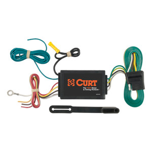 CURT Powered 3-to-2-Wire Taillight Converter #56190