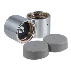 """CURT 2.32"""" Bearing Protectors & Covers (2-Pack) #22232"""