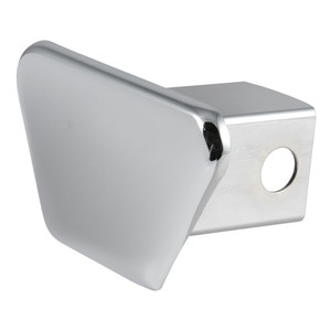 """CURT 2"""" Chrome Steel Hitch Tube Cover (Packaged) #22101"""