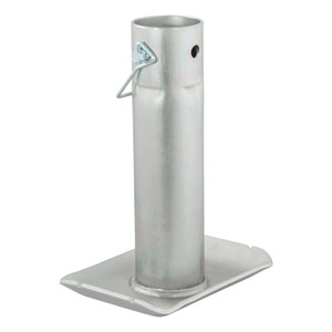 """CURT Pin-On Jack Foot (Fits 2"""" Tube, 2,000 lbs., 8-1/2"""" Height, Packaged) #28275"""