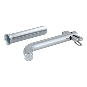 "CURT 1/2"" Swivel Hitch Pin with 5/8"" Adapter (1-1/4"" or 2"" Receiver, Zinc, Packaged) #21561"