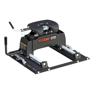 CURT Q24 5th Wheel Hitch with Ford Puck System Roller #16678