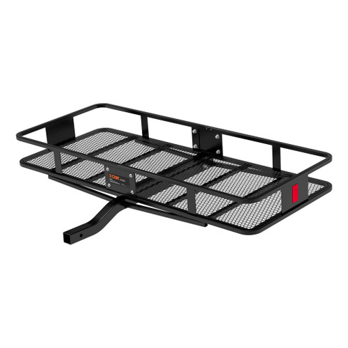 """CURT 60"""" x 24"""" Basket-Style Cargo Carrier (Fixed 2"""" Shank) #18152"""