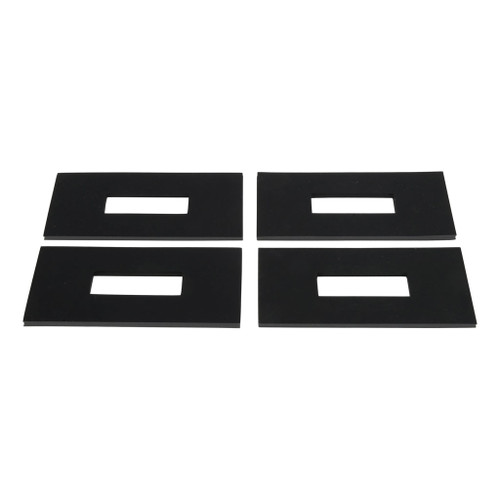 CURT 5th Wheel Rail Sound Dampening Pads (Packaged) #16901