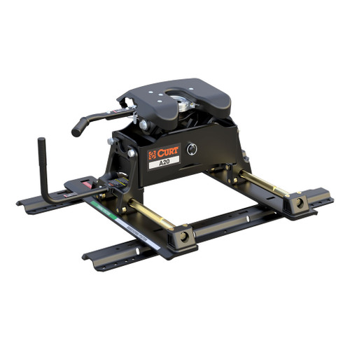 CURT A20 5th Wheel Hitch with Roller & Rails #16641