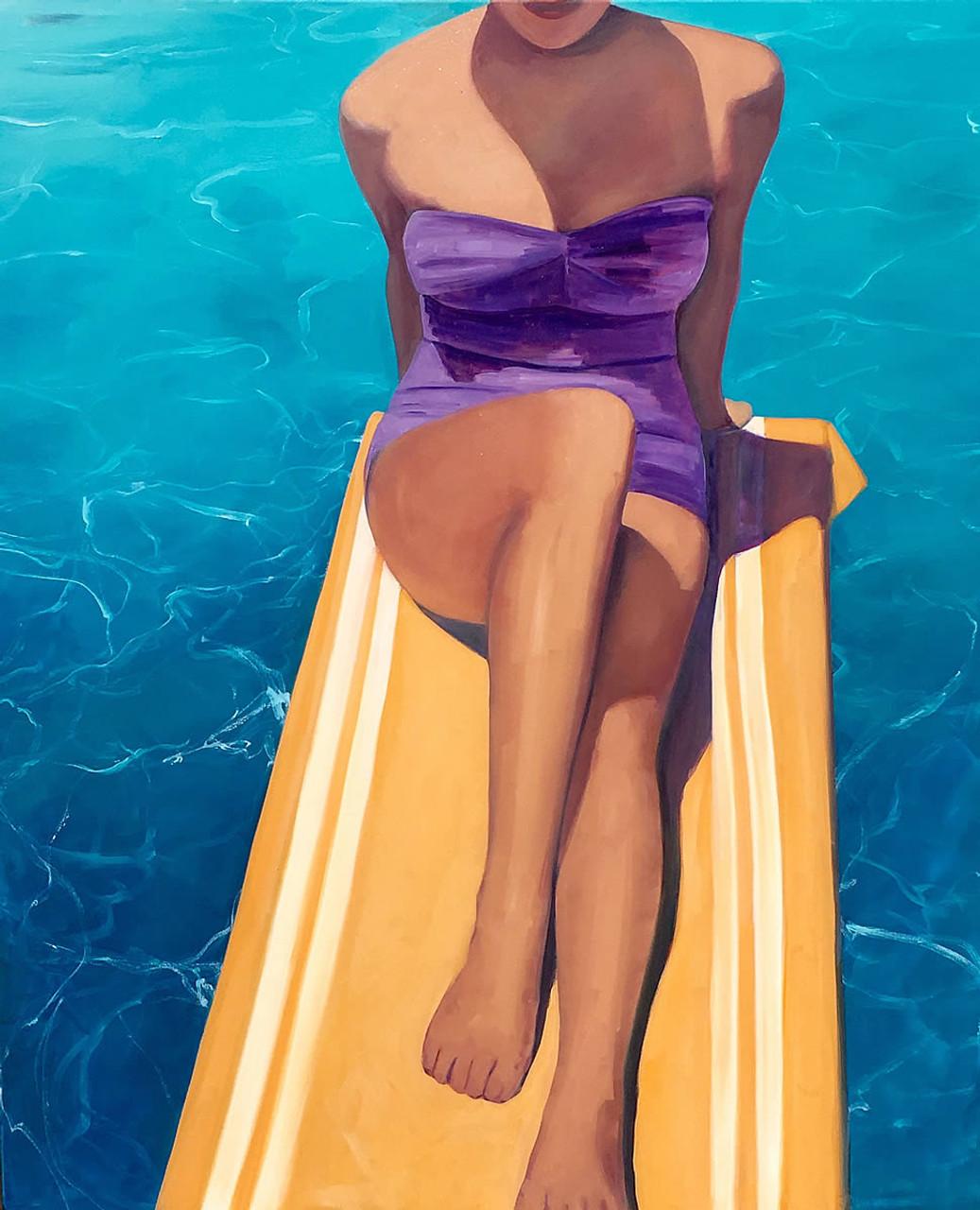 Diving Board Girl