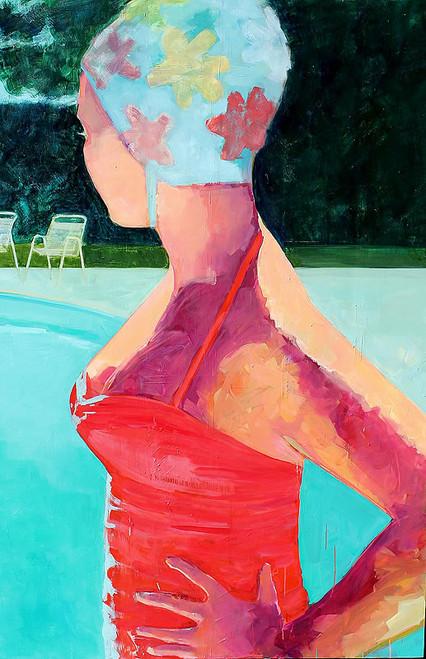 Girl by Pool