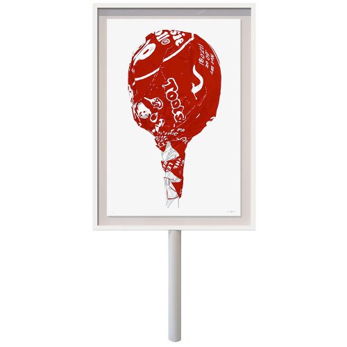 Tootsie on a Stick (Large Cherry)