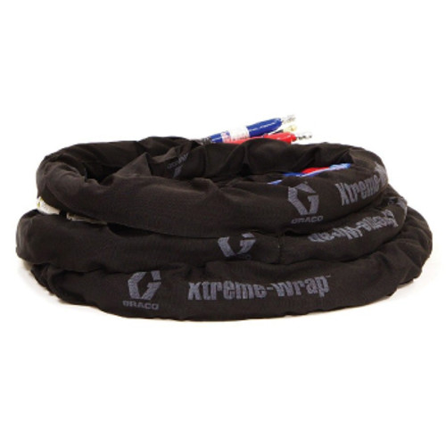 Graco 10-50' Heated Hose with Xtreme-Wrap Scuff Guard (Low & High)