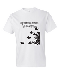 My Husband Earned his Reef Wings - T Shirt