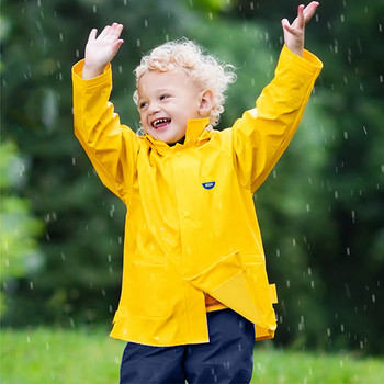 School Yellow Kids Raincoat