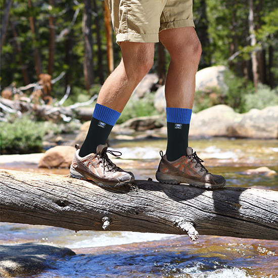 Waterproof socks hiking