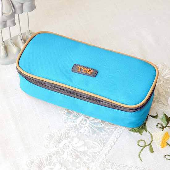 Multi-Function Canvas Pencil Case