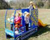 Lil Dumpy Slide has different activities to keeps kids happy