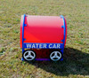 Water Car Crawl Tunnel can be purchased in blue or yellow