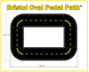 The Bristol Oval Trike Path