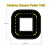 The Daytona Square Trike Path size