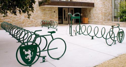 Commercial Bike Racks At Great Prices Sleek Graceful