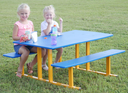Preschool Picnic Table for ages 2-5