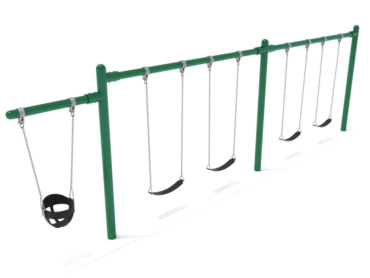 Swing Sets Have Belt Toddler Bucket Seats Ships Fast Noahsplay Com