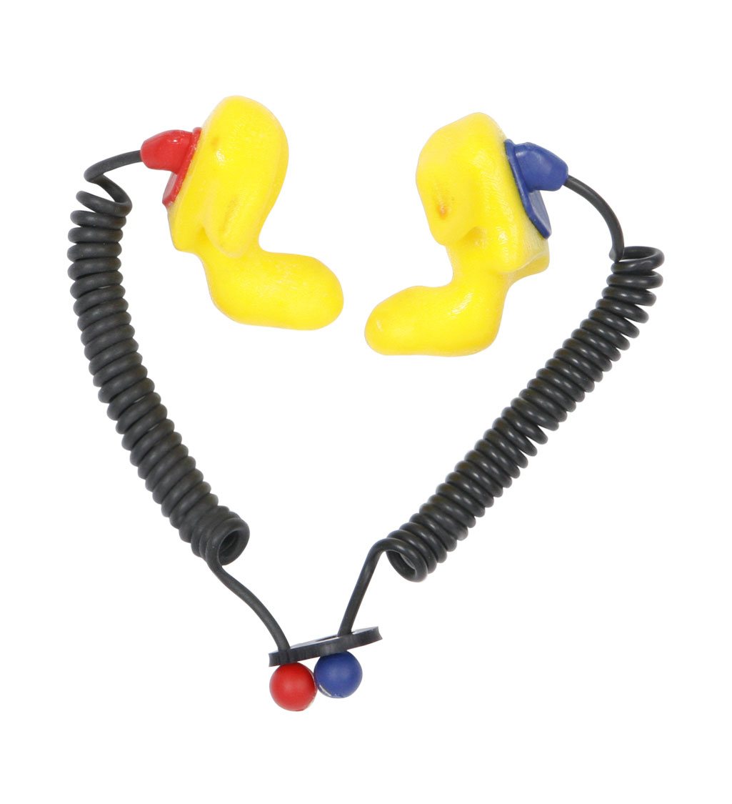 Aegisound CTE30X Custom, Solid, Coiled, Tethered Earplugs