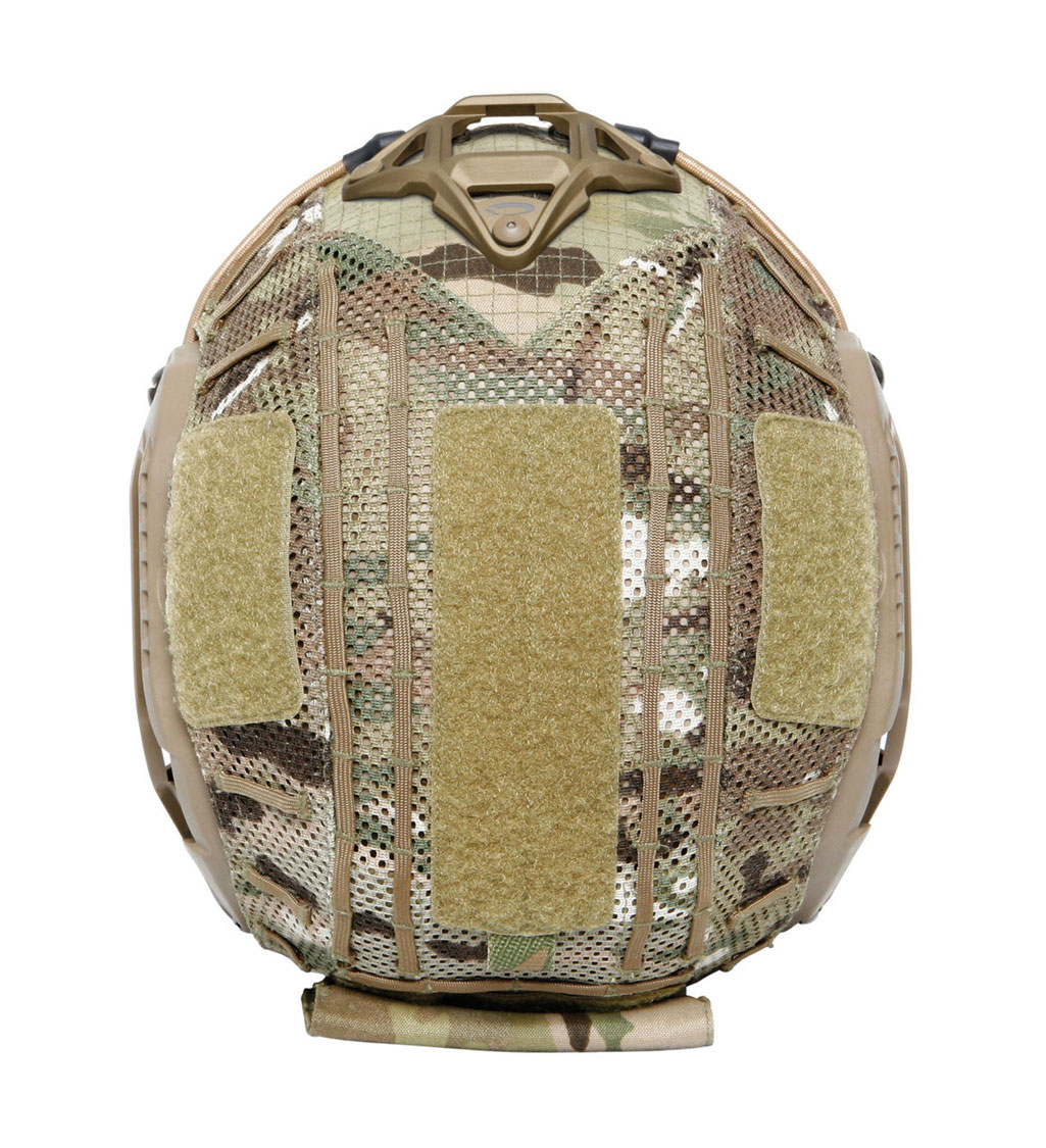 Ops-Core Removable Rear Pouch - Mesh Helmet Cover - FAST