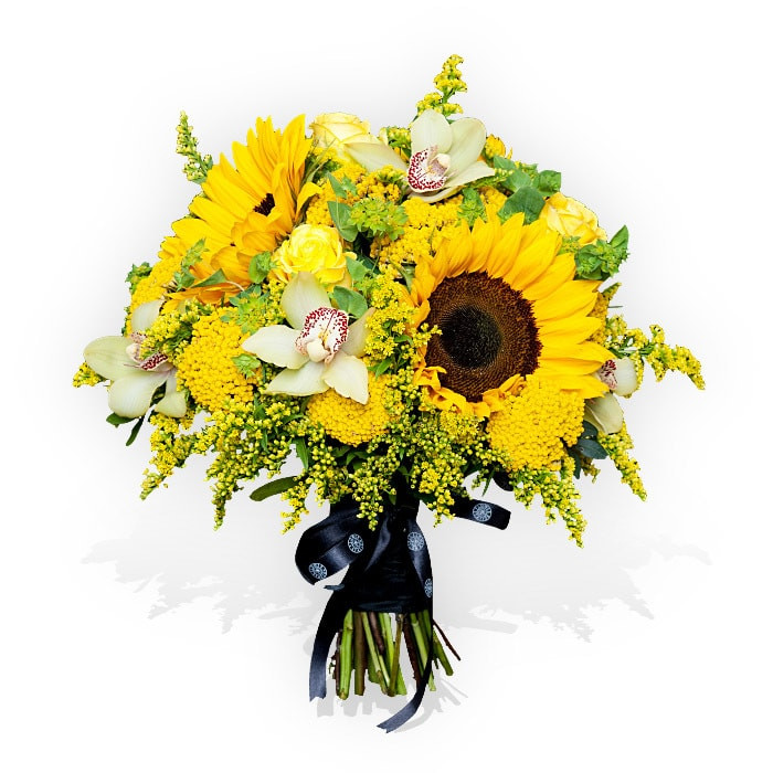 Iberian Beauty Sunflowers - flower delivery London, same day flowers