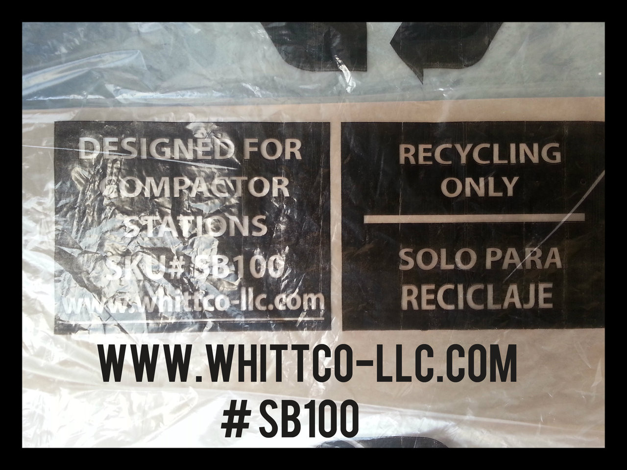 Smart Belly Bags Big Belly Bags Solar Compactor Bags