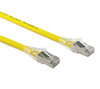 0.3M Yellow CAT6A SFTP Cable LSZH ( Component Test )