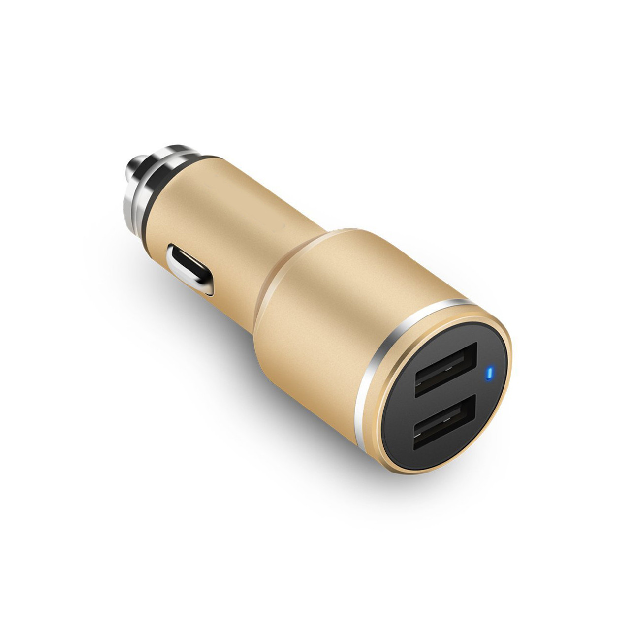 USB Car Charger 2 Port with 5V 2.4A