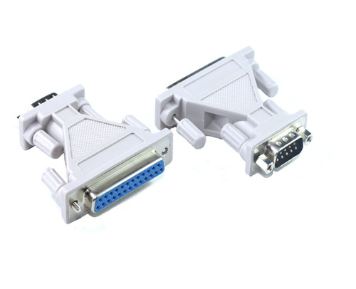 DB9M - DB25F Adaptor