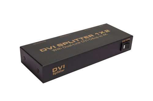 2 Port DVI 4K Splitter
