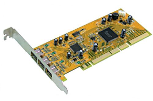 3 Port 1394B PCI 64Bit Card