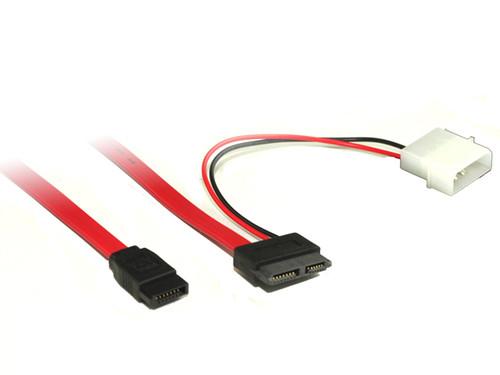30CM Slimlime SATA Cable