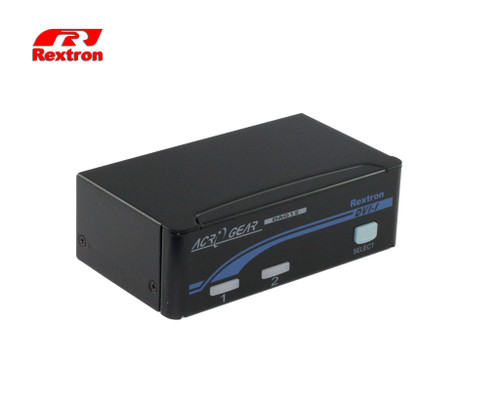 Rextron 2 Port DVI USB KVM Switch