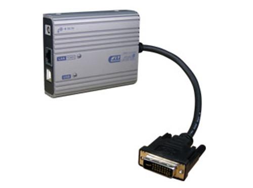 Rextron Ethernet to DVI Adaptor 1080P