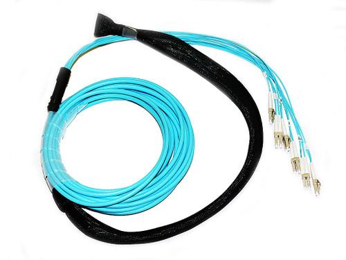 25M 12 Core OM3 LC-LC Pre-Terminated Cable