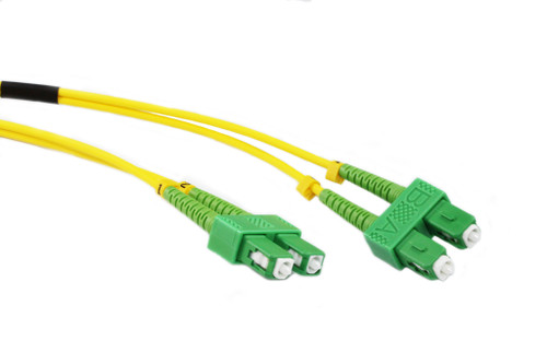 1M OS1 Singlemode SCA-SCA Fibre Optic Cable