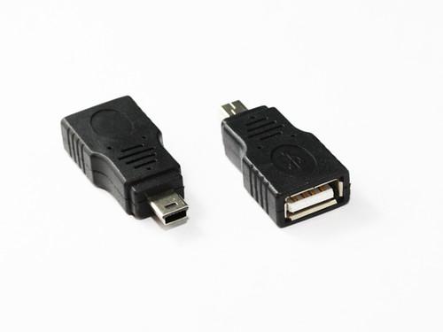 Mini USB 5Pin Male to USB 2.0 AF Adaptor