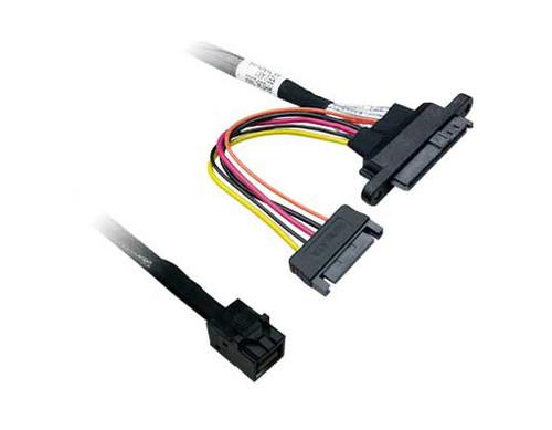 50CM MiniSAS HD SFF-8643 to U.2 Plug SFF-8639 + SATA Cable